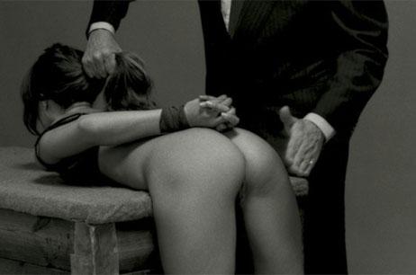 A palmada erótica